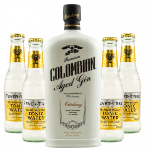Dictador Ortodoxy Premium Colombian Aged Gin & gratis Fever-Tree Indian Tonic