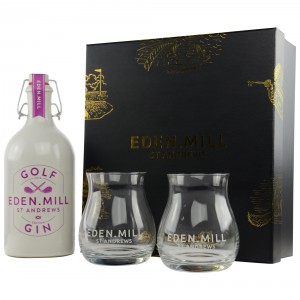 Eden Mill St. Andrews Golf Gin Gläser Set