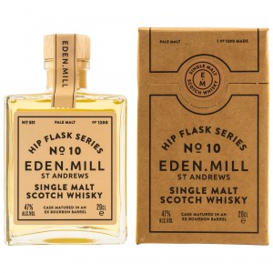 Eden Mill Single Malt Whisky Hip Flask Series No. 10 (200 ml)