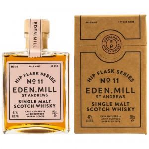 Eden Mill Single Malt Whisky Hip Flask Series No. 11 (200 ml)