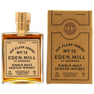 Eden Mill Single Malt Whisky Hip Flask Series No. 12 (200 ml)