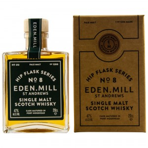 Eden Mill Single Malt Whisky Hip Flask Series No. 8 (200 ml)