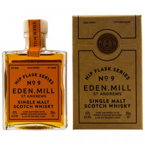 Eden Mill Single Malt Whisky Hip Flask Series No. 9 (200 ml)