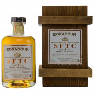 Edradour 2006/2017 Straight from the Cask Madeira Cask No. 128
