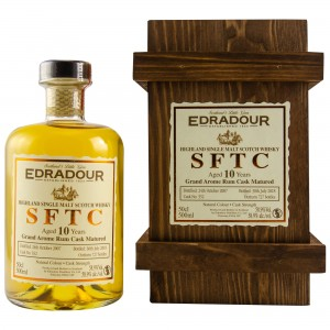 Edradour 2007/2018 Straight from the Cask Rum Cask No. 352