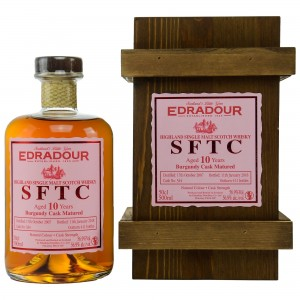 Edradour 2007/2018 Straight from the Cask Burgundy Cask Nr. 344