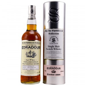 Edradour 2008/2018 Single Cask No. 135 (Signatory Un-Chillfiltered)