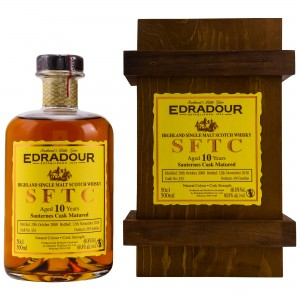 Edradour 2008/2018 10 Jahre Straight from the Cask Sauternes Cask No. 333