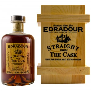Edradour 2008/2018 Straight from the Cask Sherry Cask Nr. 164