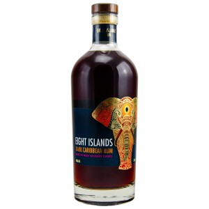Eight Islands Dark Caribbean Rum