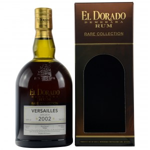 El Dorado 2002/2015 Rare Collection Versailles (Rum) (Guyana)