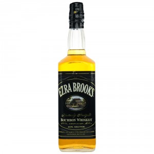 Ezra Brooks Black Label Sour Mash Bourbon Whiskey (USA: Bourbon)
