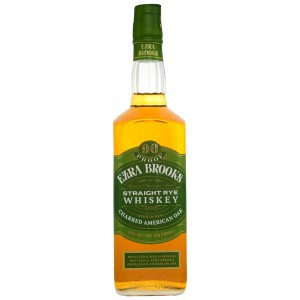 Ezra Brooks Green Label Straight Rye Whiskey (USA: Rye)