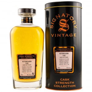 Fettercairn 1988/2019 30 Jahre Hogsheads No. 2035+2041 (Signatory Cask Strength Collection)