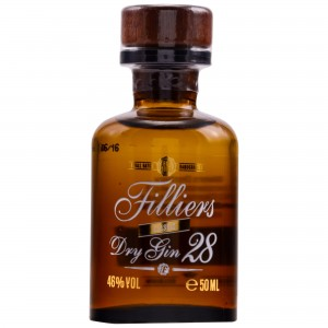 Filliers Dry Gin 28 Classic Miniatur
