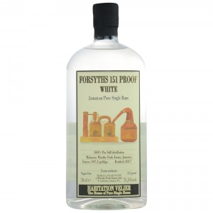 Forsyths Worthy Park 151 Proof White Jamaica Pure Single Rum (Habitation Velier)