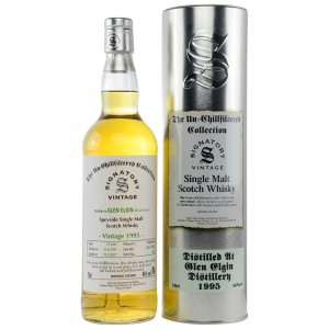 Glen Elgin 1995/2017 Cask No. 3259+3262 (Signatory Un-Chillfiltered)