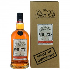 Glen Els 5 Jahre 2011/2017 Port Casks Bottled for Kirsch Whisky (Deutschland)
