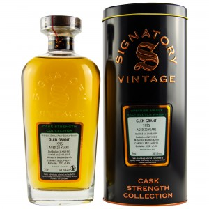 Glen Grant 1995/2018 Cask No. 88213+88214 (Bourbon Barrels) (Signatory Cask Strength)