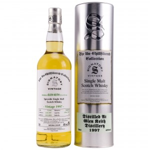 Glen Keith 1997/2018 Casks No. 72596+72597 (Hogsheads) (Signatory Un-Chillfiltered)