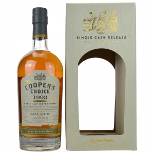 Glen Keith 1993/2015 Madeira Cask Finish (Vintage Malt Whisky Company - The Coopers Choice)