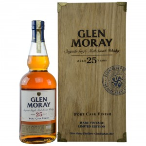 Glen Moray 25 Jahre Port Cask Finish