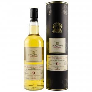 Glen Moray 2008/2018 9 Jahre Single Cask No. 5647 (A.D. Rattray)