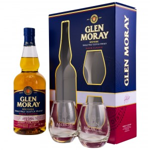 Glen Moray Sherry Cask Finish Set mit 2 Gläsern
