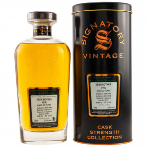 Glenrothes 1996/2018 Cask No. 15114 (Signatory Cask Strength)