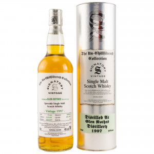 Glenrothes 1997/2019 Cask No. 4826+4827 (Hogsheads) (Signatory Un-Chillfiltered)