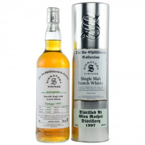 Glenrothes 1997/2017 - Cask No. 15975 (Refill Sherry Butt) - (Signatory Un-Chillfiltered)