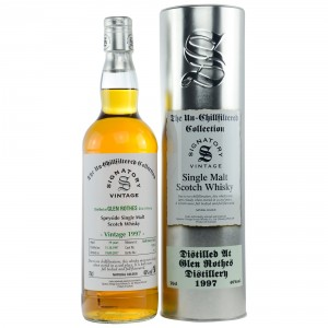 Glenrothes 1997/2017 - Cask No. 15976 (Refill Sherry Butt) - (Signatory Un-Chillfiltered)