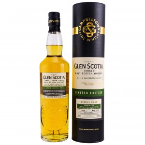 Glen Scotia 2006/2018 11 Jahre First Fill Bourbon Single Cask No. 533