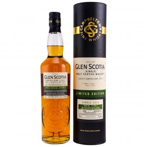 Glen Scotia 2007/2018 Bordeaux Red Wine Hogshead Single Cask 17/106-3