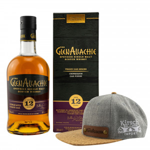 GlenAllachie 12 Jahre Chinquapin Virgin Oak (Virgin Oak Series) + Rubde Cap