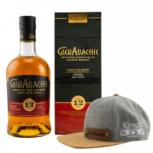 GlenAllachie 12 Jahre Spanish Virgin Oak (Virgin Oak Series) + Rubde Cap