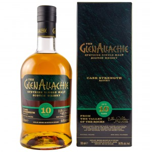 GlenAllachie 10 Jahre Cask Strength Batch 02