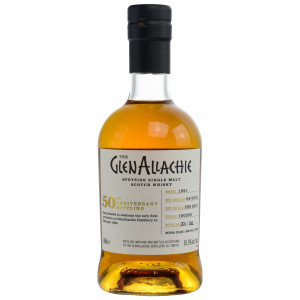 GlenAllachie 1991/2018 - Cask #100285 - Hogshead 50th Anniversary Single Cask