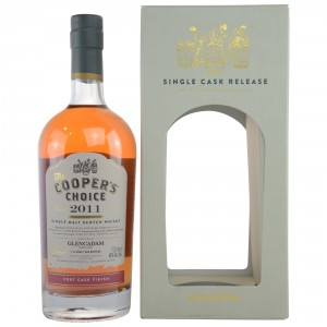 Glencadam 2011/2017 Port Cask Finish Cask No. 9822 (Vintage Malt Whisky Company - The Coopers Choice)