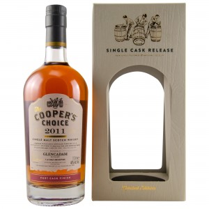 Glencadam 2011/2017 Port Finish Single Cask No. 0349 (The Coopers Choice)