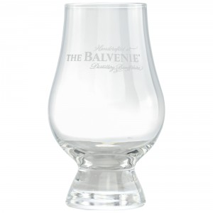 The Glencairn Glass Whisky Glas mit The Balvenie Motiv