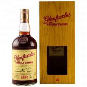 Glenfarclas 1990/2018 The Family Casks - Cask No. 9468 Sherry Butt