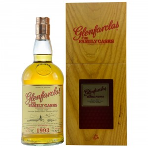Glenfarclas 1993/2014 The Family Casks - Cask No. 1614 - Refill Sherry Butt