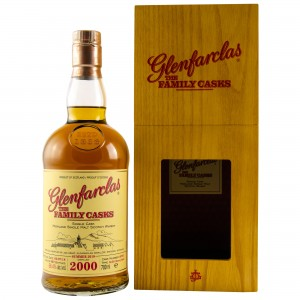 Glenfarclas 2000/2018 The Family Casks - Cask No. 4076 Refill Sherry Butt