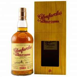 Glenfarclas 2001/2018 The Family Casks - Cask No. 3353 - Refill Sherry Butt