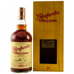 Glenfarclas 2003/2018 The Family Casks - Cask No. 2 - Sherry Butt