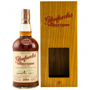 Glenfarclas 2004/2018 The Family Casks - Cask No. 2024 - Refill Sherry Hogshead