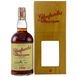 Glenfarclas 1990/2017 The Family Casks - Cask No. 9255 - Sherry Butt