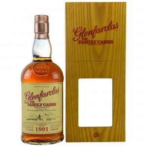 Glenfarclas 1991/2017 The Family Casks - Cask No. 209 - Sherry Butt