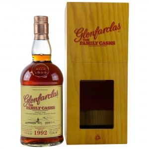 Glenfarclas 1992/2017 The Family Casks - Cask No. 2901 - Sherry Butt